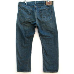 Levi's 501 - Button Fly Jeans - Dark Wash - Sz 40